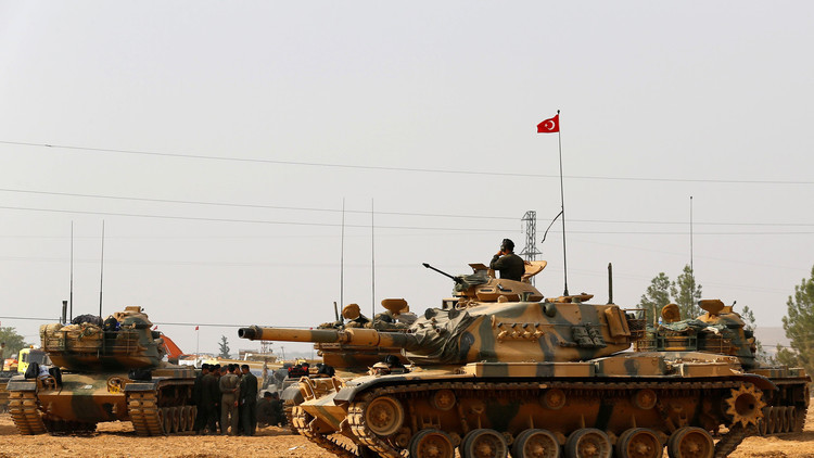 الجيش التركي يتعهد بمنع إقامة أي كيانات في سوريا
