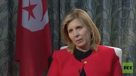 وزيرة السياحة والصناعة التقليدية التونسية، سلمى اللومي الرقيق