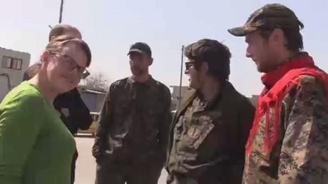 دعم للمقاتلين الأجانب في الوحدات الكردية