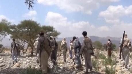 عملية إنزال أمريكية في أبين جنوب اليمن