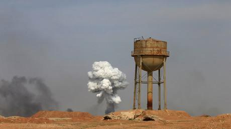قصف قرب الموصل