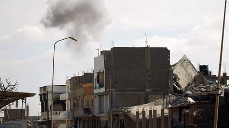 استمرار الاشتباكات في بنغازي بليبيا