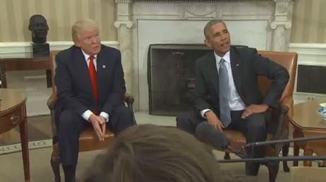 ترامب يتهم أوباما بالتنصت على مكالماته