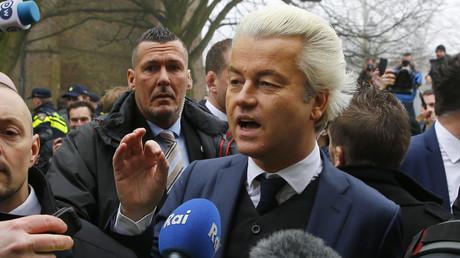 النائب الهولندي اليميني المتشدد غيرت فيلدرز