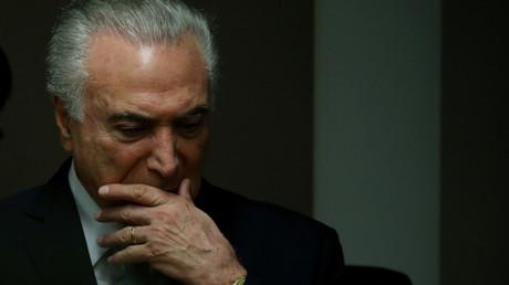 رئيس البرازيل ميشال تامر