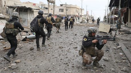 القوات العراقية تمشط الموصل من بقايا مسلحي داعش