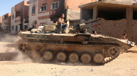 قوات الجيش الليبي في بنغازي