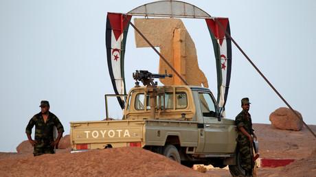 جنود تابعون لجبهة البوليساريو