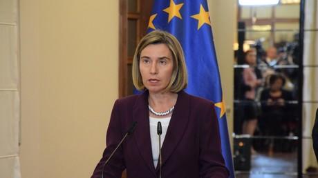المفوضة العليا للسياسة الخارجية للاتحاد الأوروبي، فيديريكا موغيريني