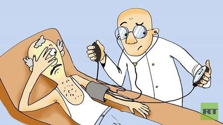 مشاكل ارتفاع ضغط الدم وطرق علاجها