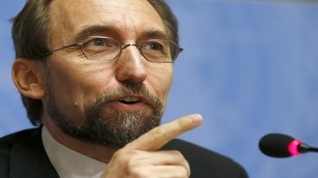 الأمير زيد رعد بن الحسين مفوض الأمم المتحدة السامي لحقوق الإنسان