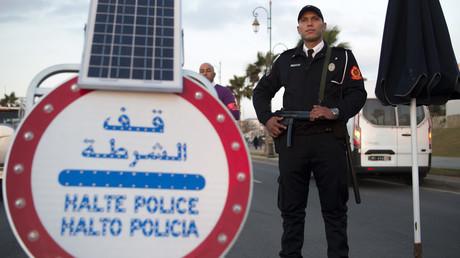 أفراد شرطة مغربية (صورة أرشيفية)