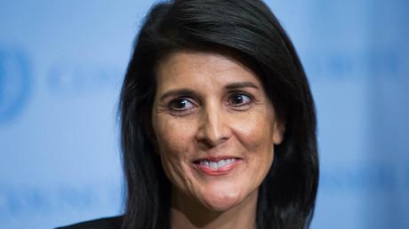 السفيرة الأمريكية في الأمم المتحدة نيكي هالي