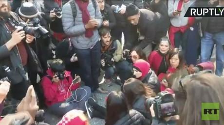 شرطة نيويورك توقف ناشطة عربية في يوم المرأة العالمي