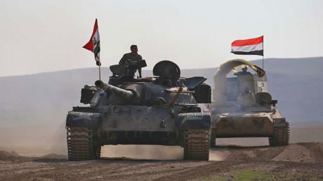 المعارك في الموصل (صورة من الأرشيف)