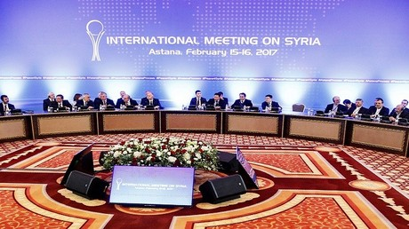 جولة المفاوضات بشأن التسوية السورية في أستانا في يومي 15-16 فبراير/شباط 2017