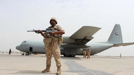 جندي إماراتي من التحالف العربي في اليمن(أرشيف)