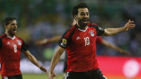 محمد صلاح نجم المنتخب المصري