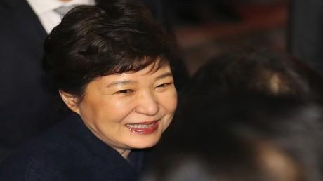 رئيسة كوريا الجنوبية المعزولة بارك جيون هاي، سيئول 12 مارس 2017