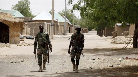 دورية للجيش النيجيري