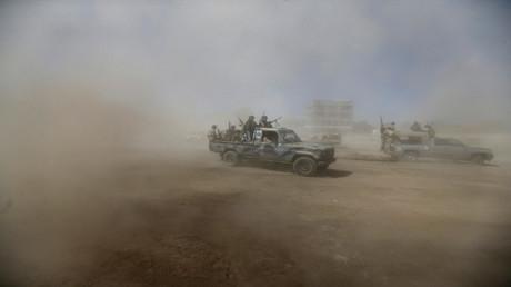 المعارك في اليمن (صورة من الأرشيف)