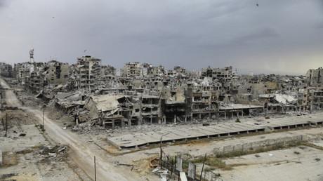 حمص (صورة من الأرشيف)