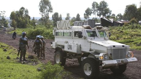 دورية لقوات حفظ السلام في الكونغو الديمقراطية