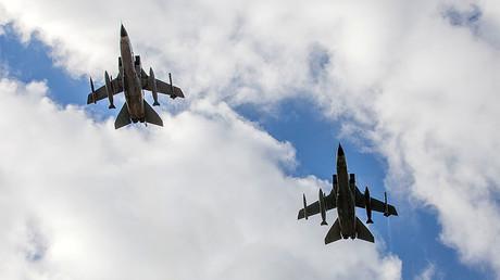 """مقاتلتان ألمانيتان من طراز """"تورنادو"""" تقلعان من قاعدة إنجرليك التركية"""