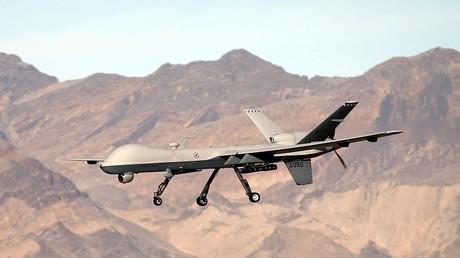 أرشيف - طائرة أمريكية بلا طيار من طراز MQ-9 Reaper