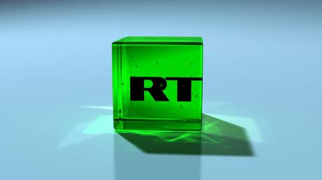 """شعار شبكة """"RT"""""""