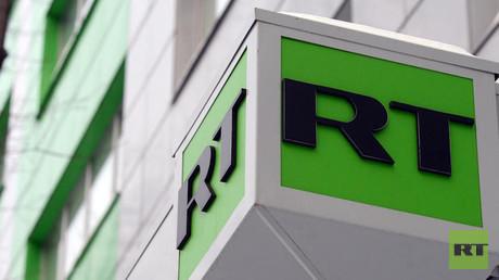 شعار شبكة RT