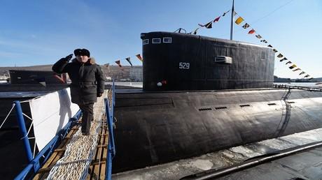 تشغيل الغواصة النووية الروسية
