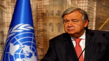 أمين عام الأمم المتحدة، أنطونيو غوتيريش