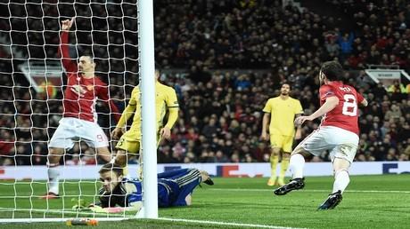 هدف مانشستر يونايتد في مرمى روستوف