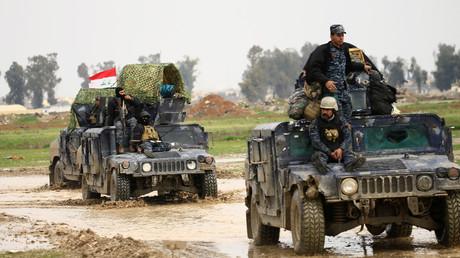 القوات العراقية تتقدم في غرب الموصل