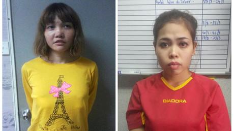 الإندونيسية والفيتنامية المشتبه بهما في اغتيال كي جونغ نام