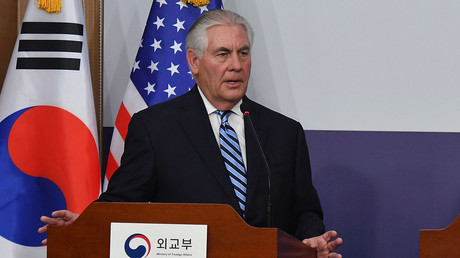 وزير الخارجية الأمريكي، ريكس تيلرسون