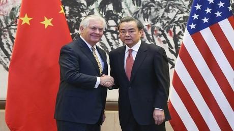 وزيرا الخارجية الأمريكي والصيني