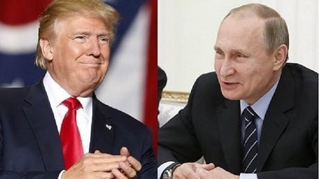 الرئيسان فلاديمير بوتين ودونالد ترامب