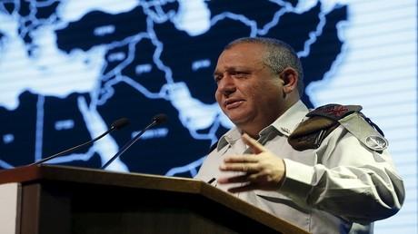 رئيس هيئة الأركان الإسرائيلية غادي ايزنكوت