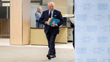 المبعوث الأممي الخاص إلى سوريا ستيفان دي ميستورا