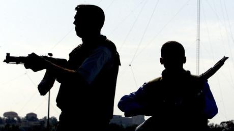 عناصر من الشرطة العراقية في الموصل