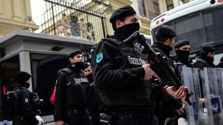 قوات الأمن التركي