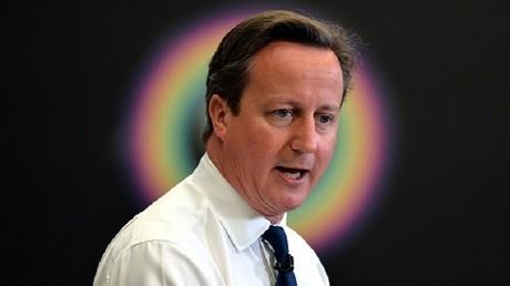 رئيس الوزراء البريطاني السابق ديفيد كاميرون