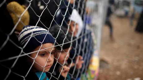 عوائل نازحة من الموصل