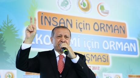 لرئيس التركي رجب طيب أردوغان