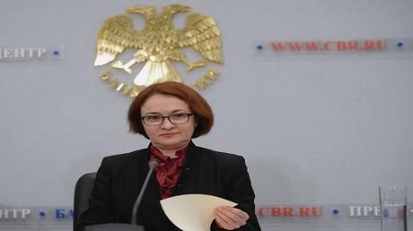 إلفيرا نابيؤلينا حاكمة البنك المركزي الروسي