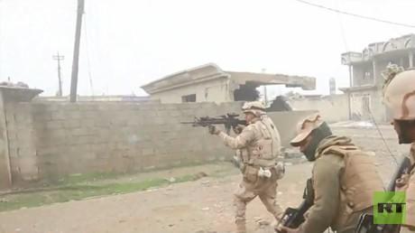 عمليات متواصلة للقوات العراقية في الموصل