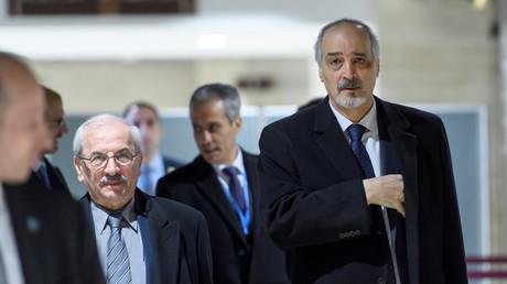 وفد الحكومة السورية إلى مفاوضات جنيف
