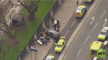 مقتل 5 أشخاص وإصابة 40 في هجوم لندن